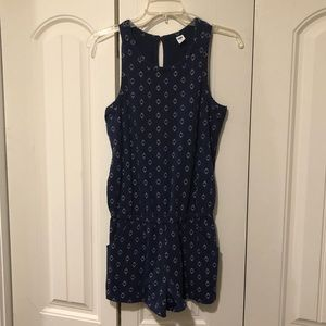 Old Navy blue romper